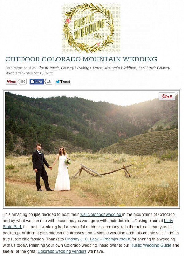 fort collins published wedding photographer