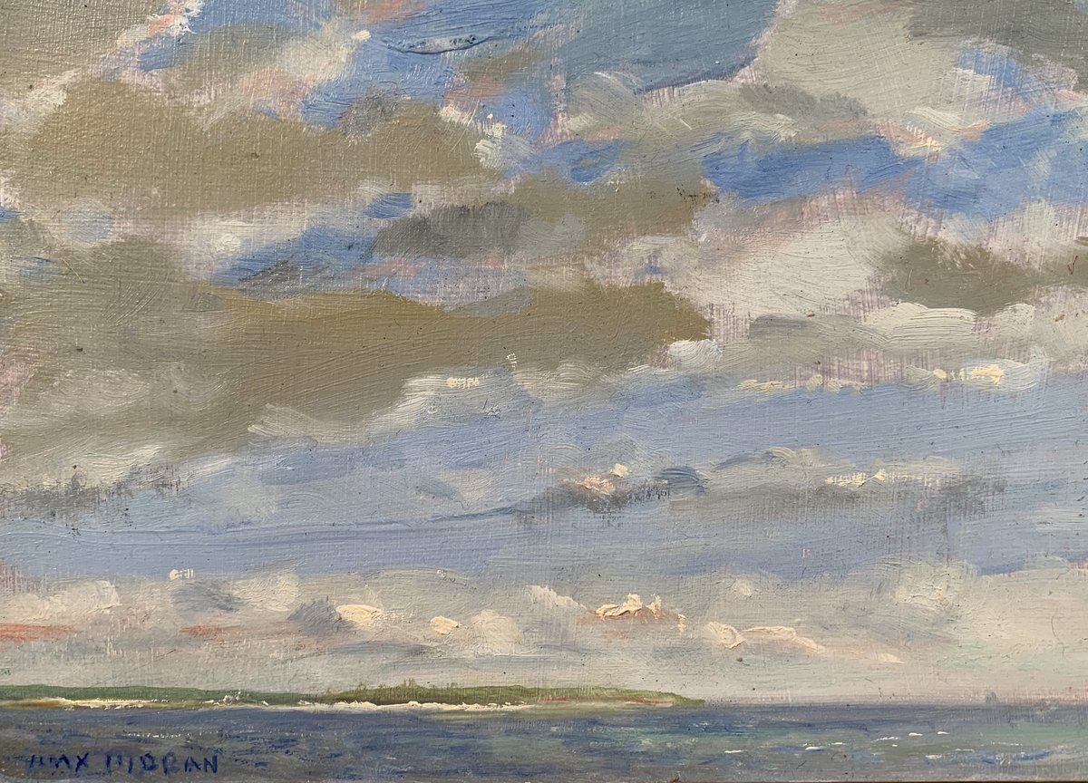 Connecticut Clouds 5 x 7 oop 1,000