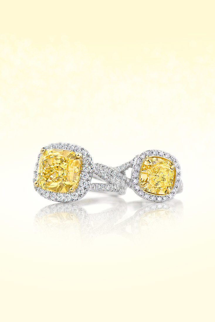 yellow-diamond-halo-ring