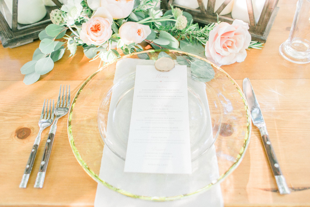 Rustic Chic Table Setting Bright Event Rentals Dinnerware