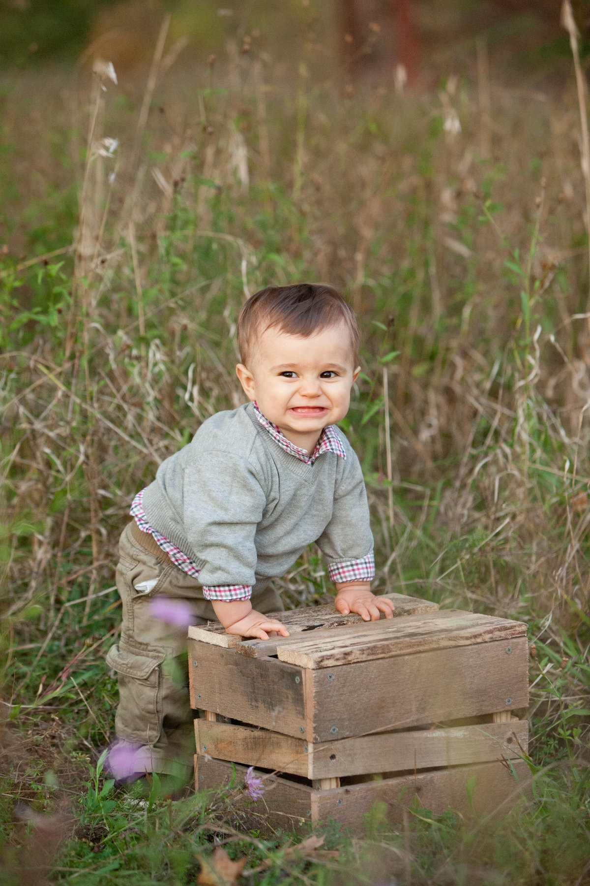 outdoor photos first birthday baby photographer in the Hudson Valley NY