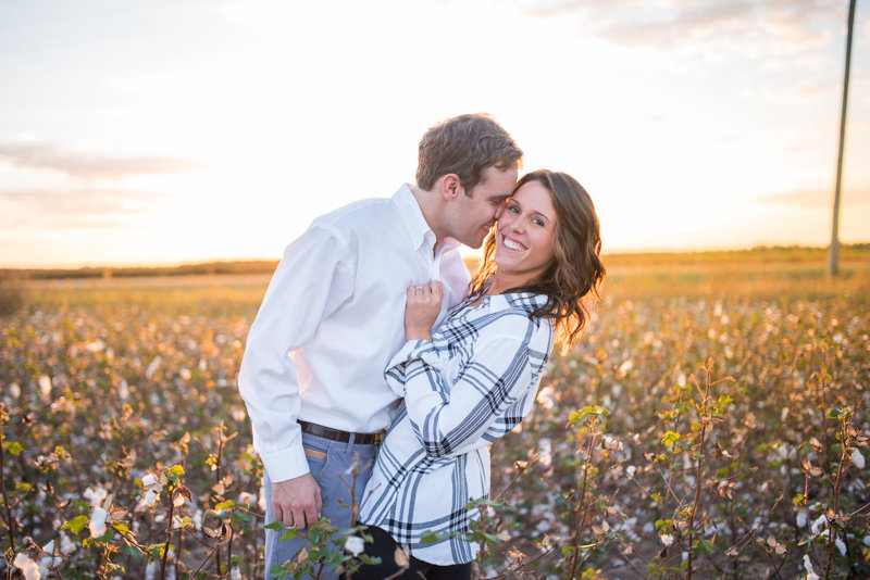 Sunset Engagement Session by Georgia Wedding Photographer Eliza Morrill-33