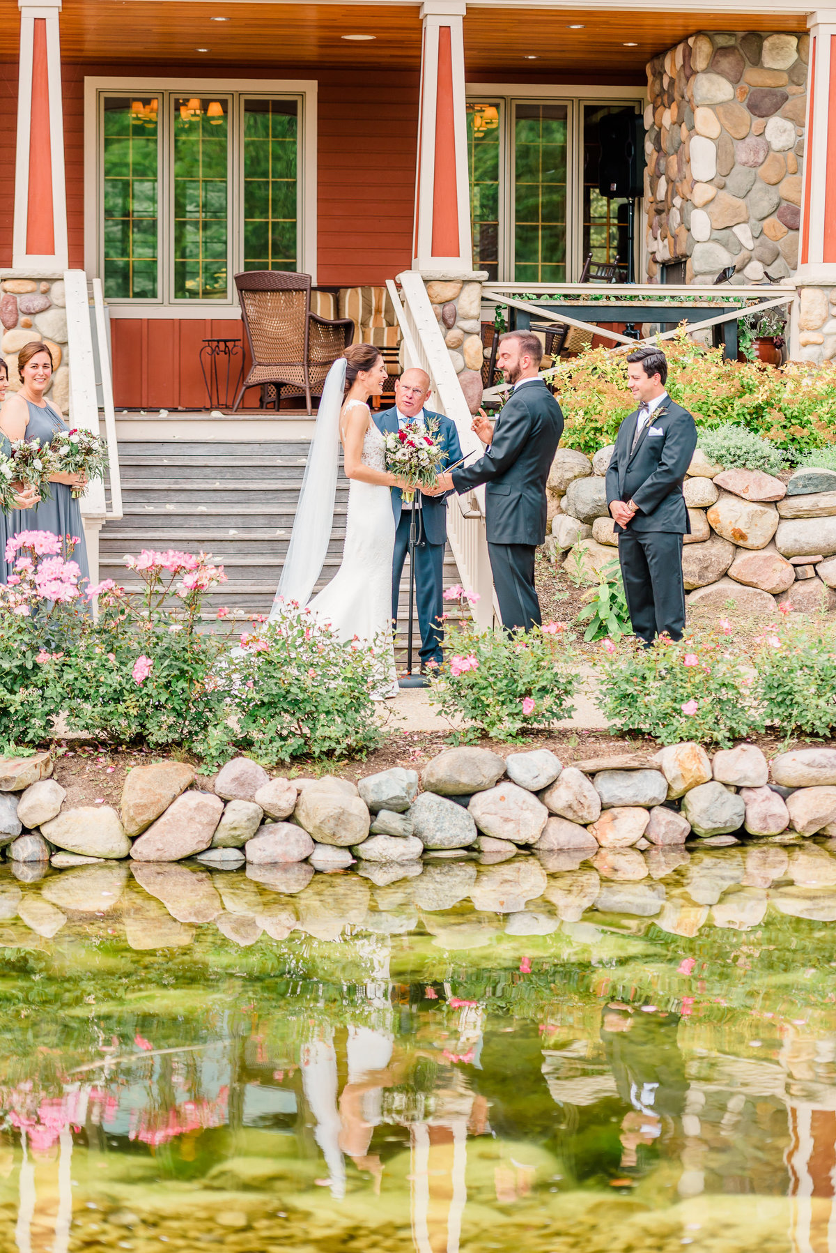 wedding photographers at the homestead resort in michigan