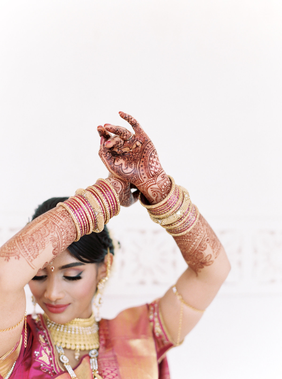 Kavya + Eric Couple Portraits BAPS Mandir Atlanta Wedding 042