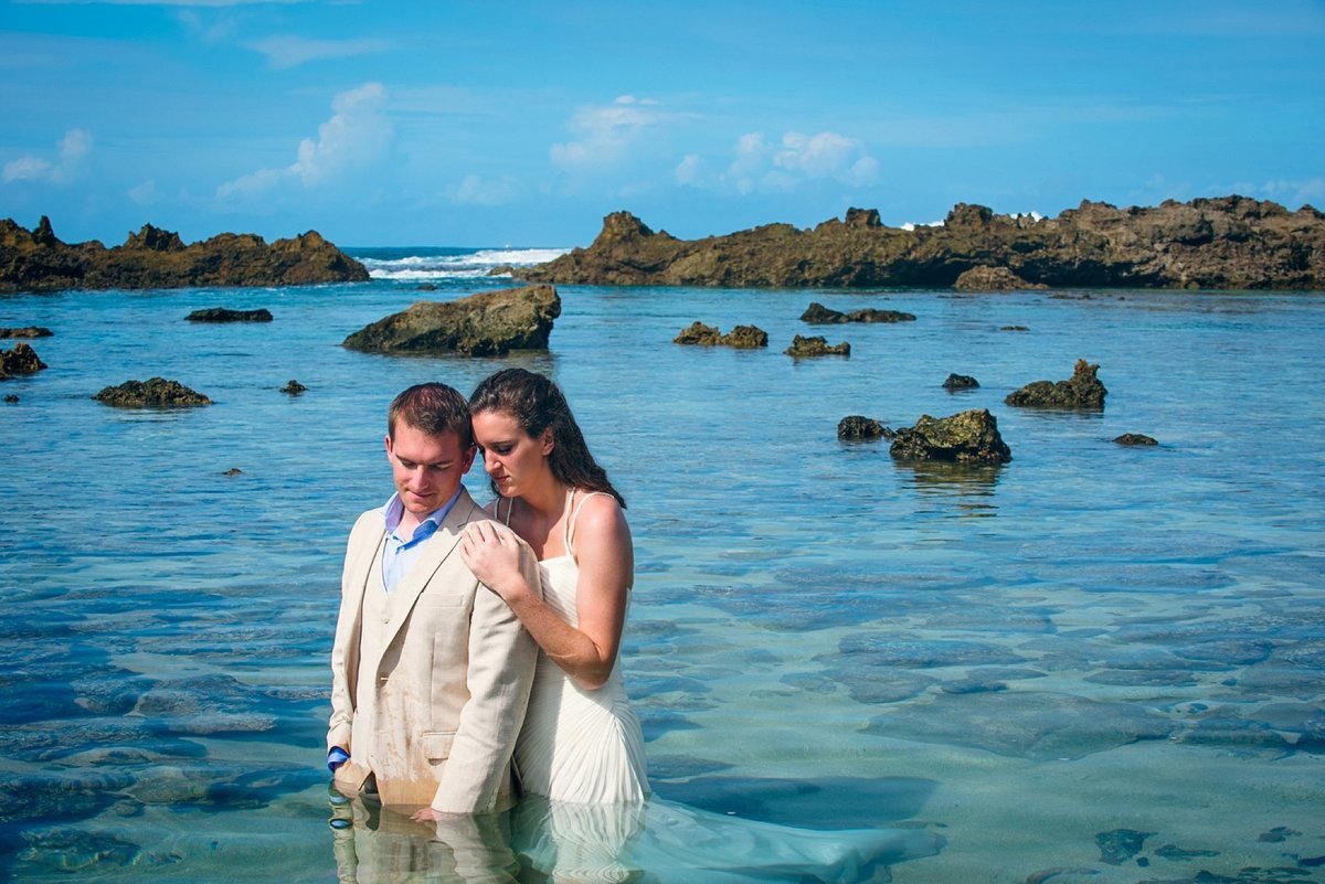 Sunset Beach Oahu Hawaii Wedding_123