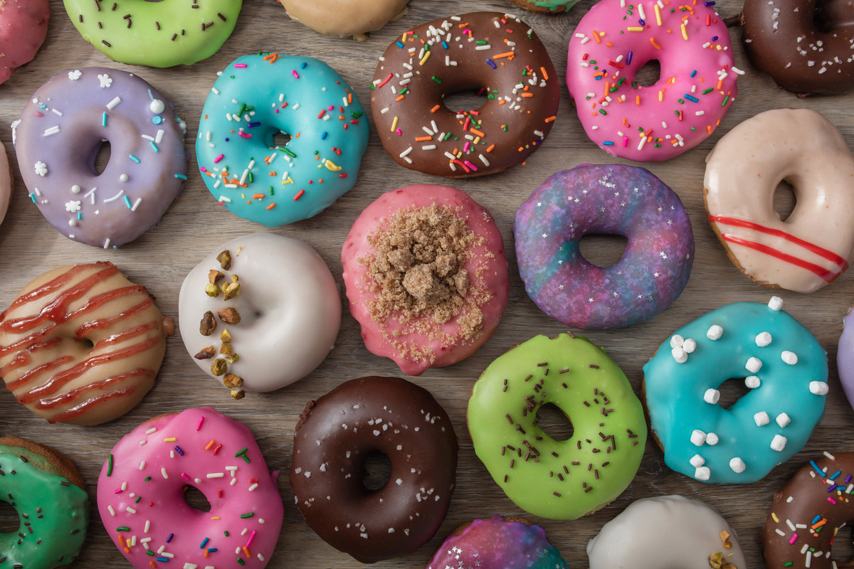 Donut Photography