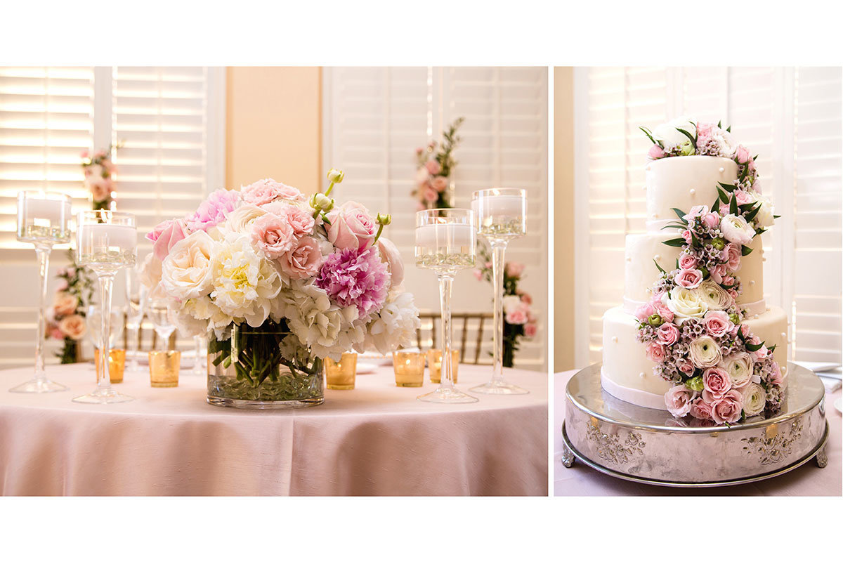 ritz carlton naples florida elegant wedding cake