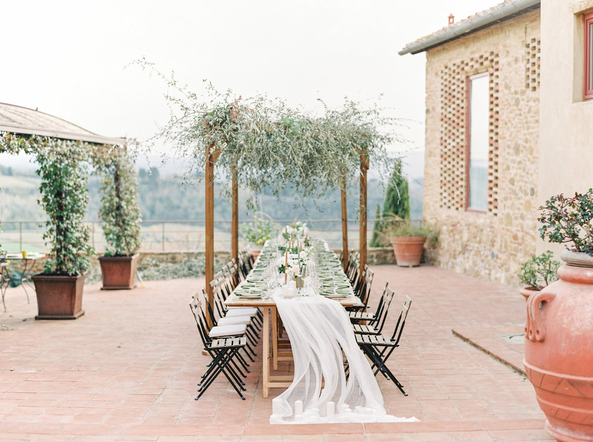 Tuscany Wedding Erica Nick - Lauren Fair Photography315