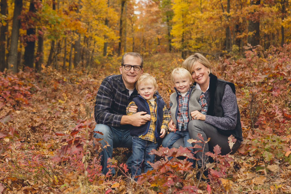 Outdoor fall family photos by Hudson Valley NY professional photographer Autumn Photography