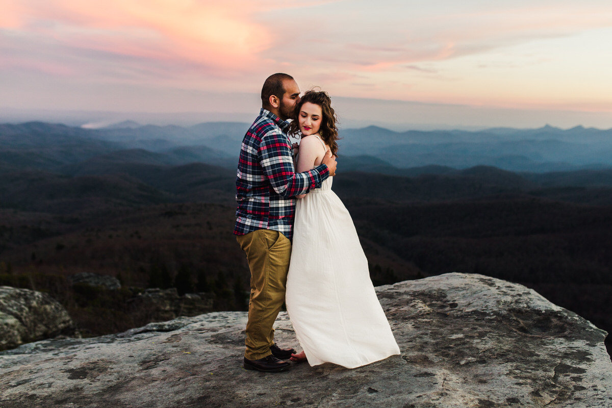 Blue Ridge Parkway Engagement Session more 7