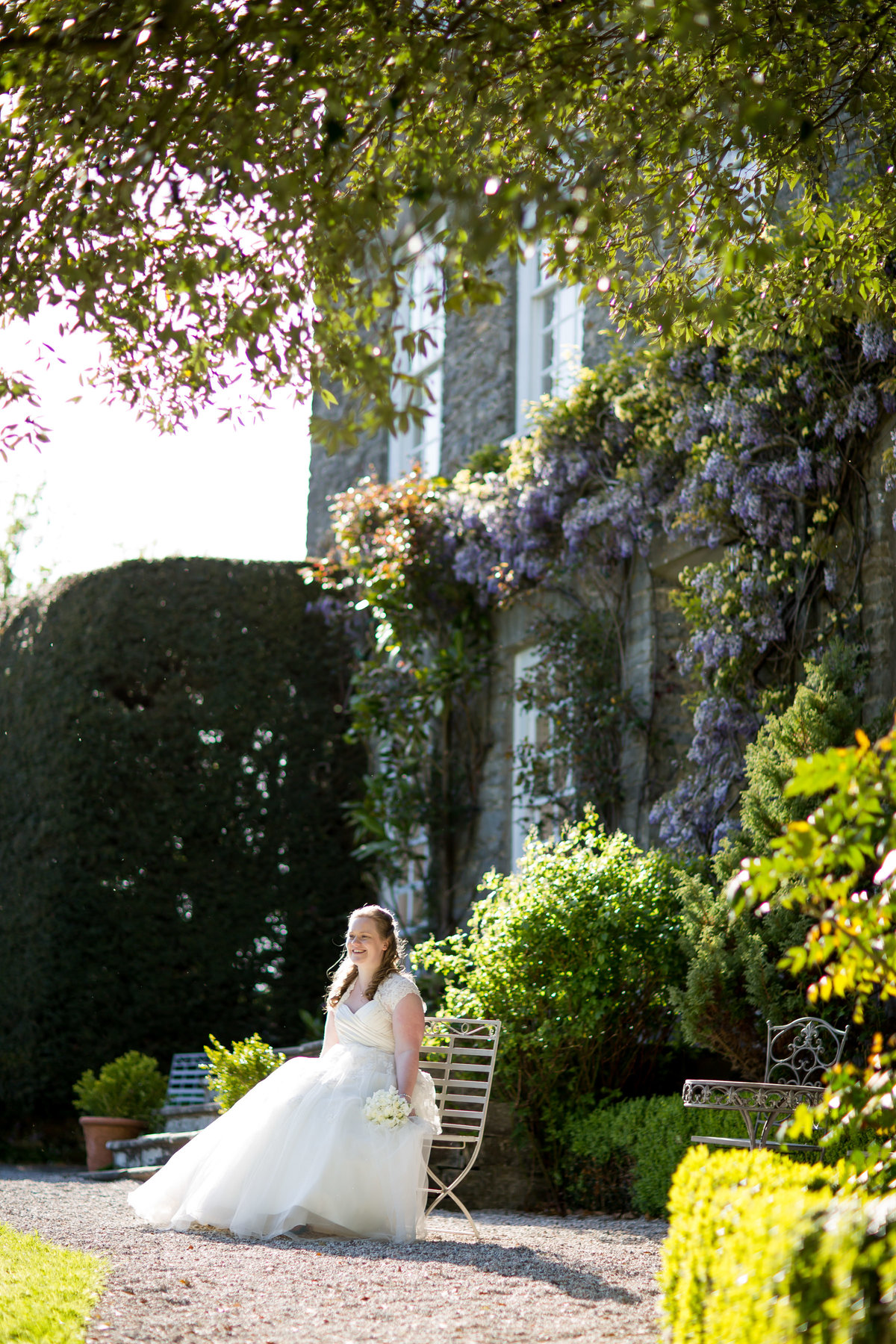 wedding photographer at kingston estate totnes