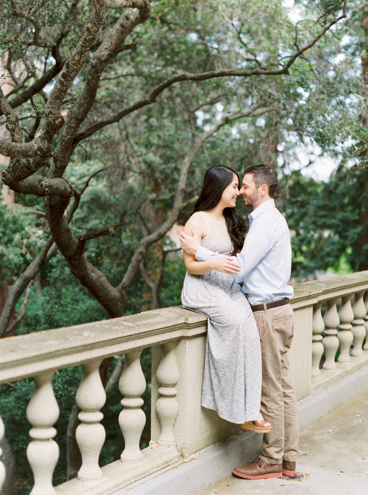 Loan + Scott University of California Berkeley Campus Engagement Session 0036