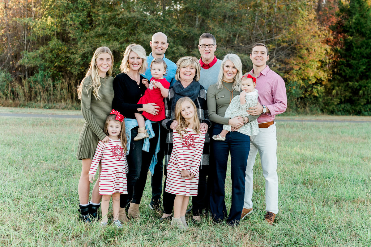 wake forest, nc family photo