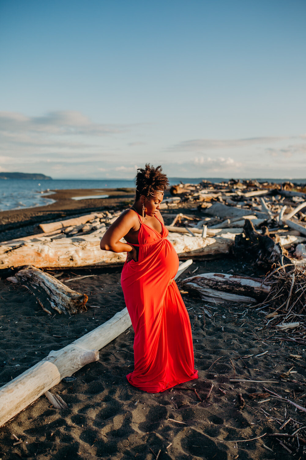 Camano Island Washington Maternity Photography-11