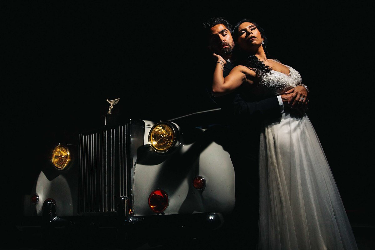 Rolls-Royce-Wedding-Couple-Portrait-Charleston-Photographers-in-Charleston-SC-Fia-Forever-Photography