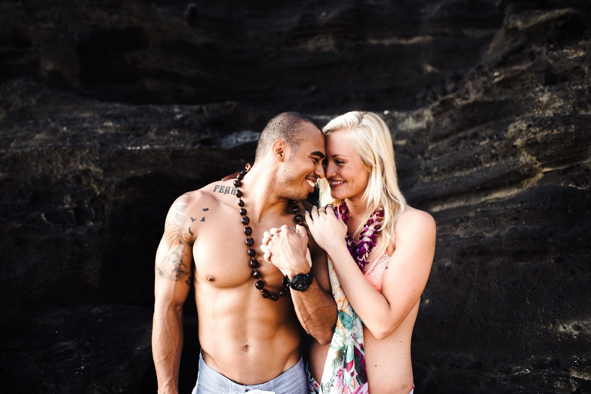 Eternity Beach Honolulu Hawaii Destination Engagement Session - 68