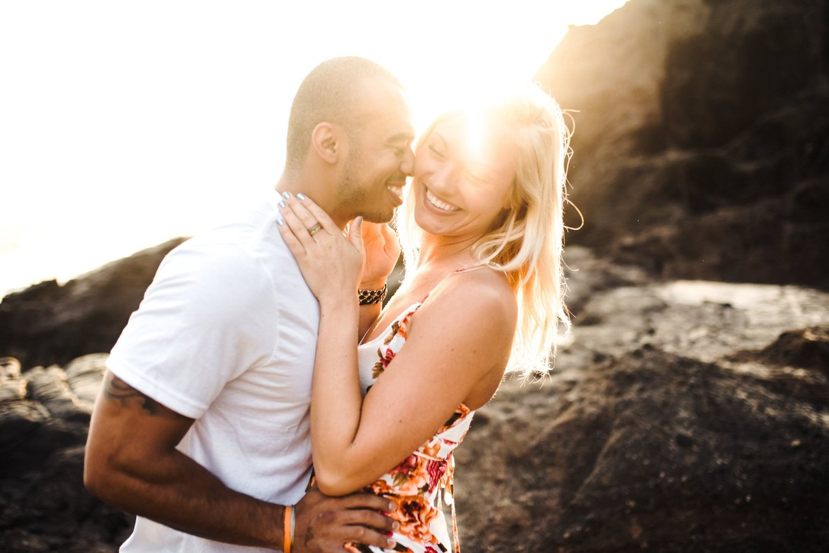 Eternity Beach Honolulu Hawaii Destination Engagement Session - 12