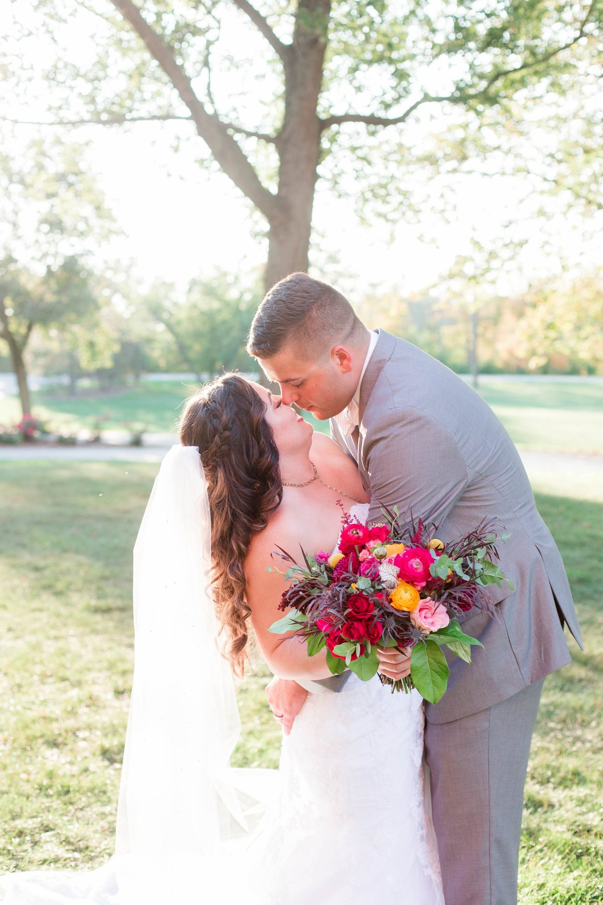 Burgundy Nazareth Hall Fall Wedding by Toledo and Detroit Based Wedding Photographers Kent & Stephanie Photography_0776