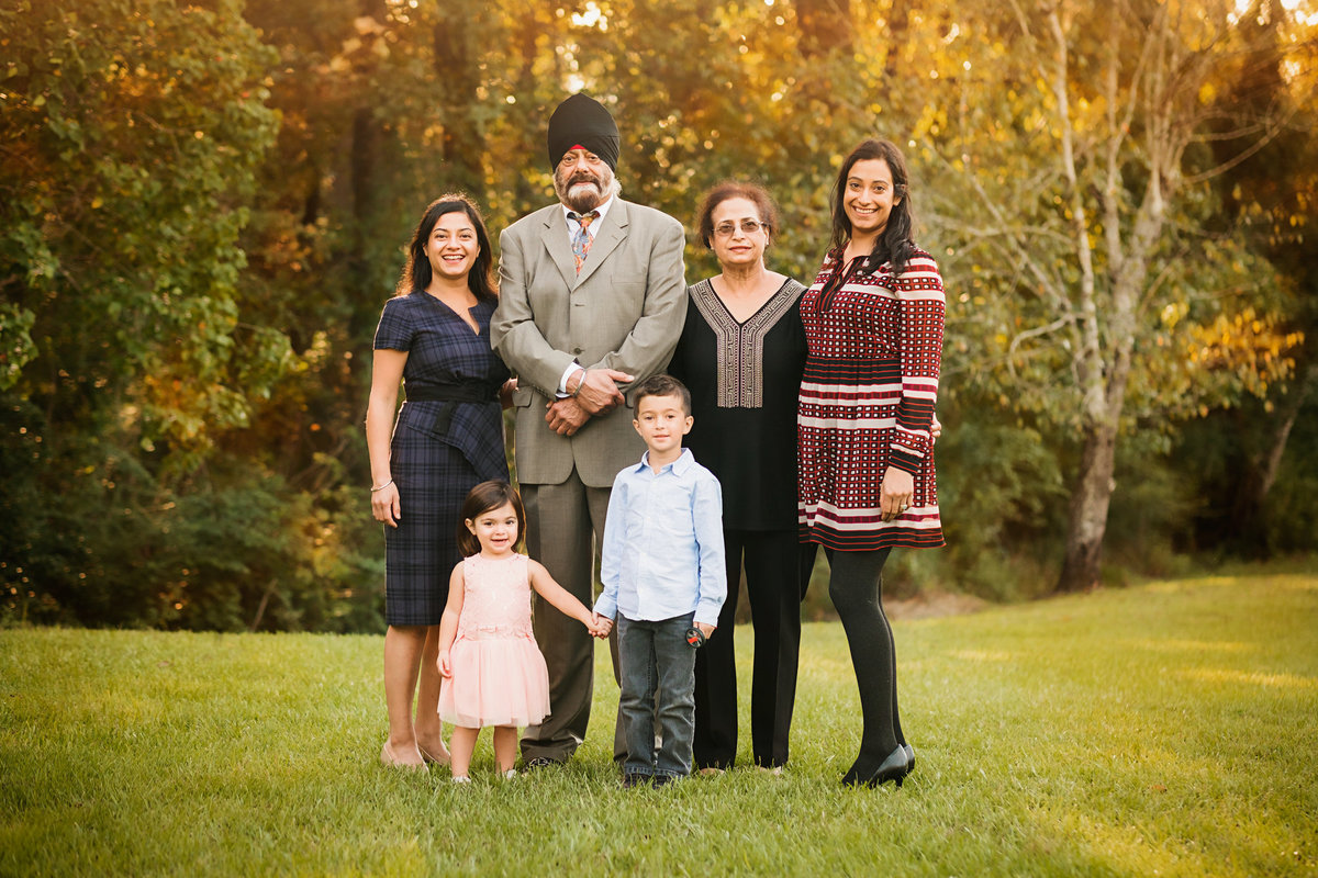 New Orleans Indian Family Photographer