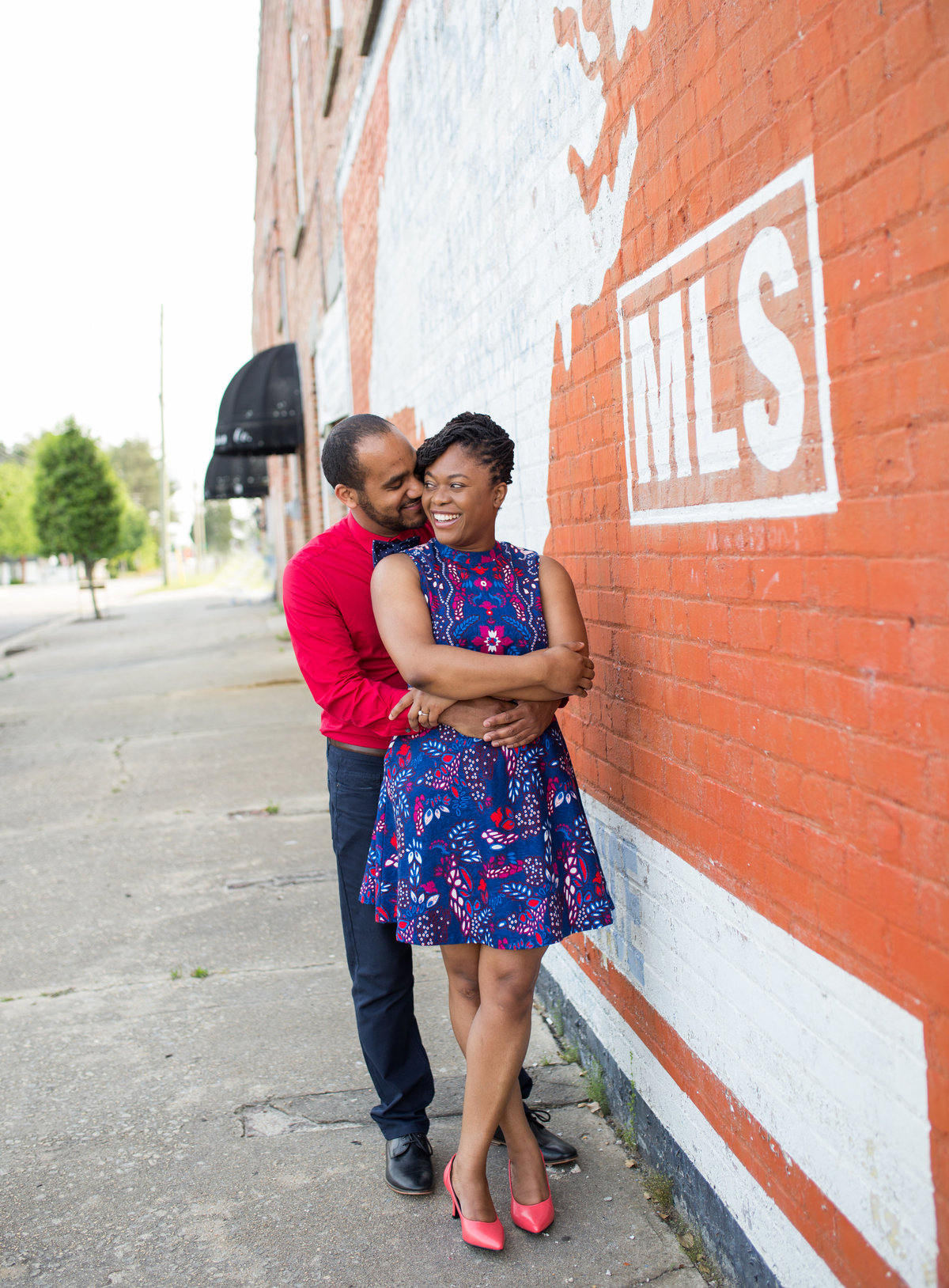 engagement photos in Benson, North Carolina