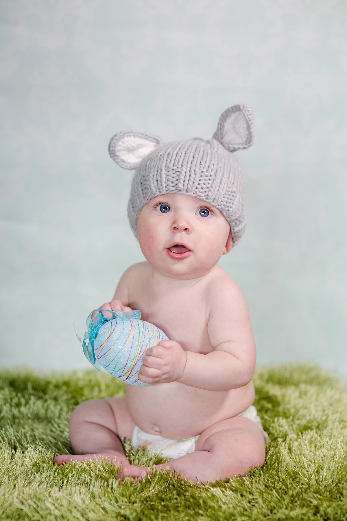 boy as bunny photoshoot