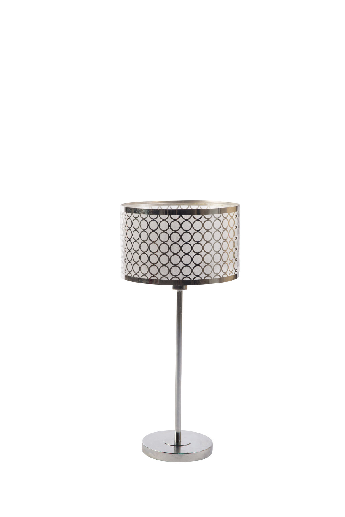 Silver Nuvo Lamp