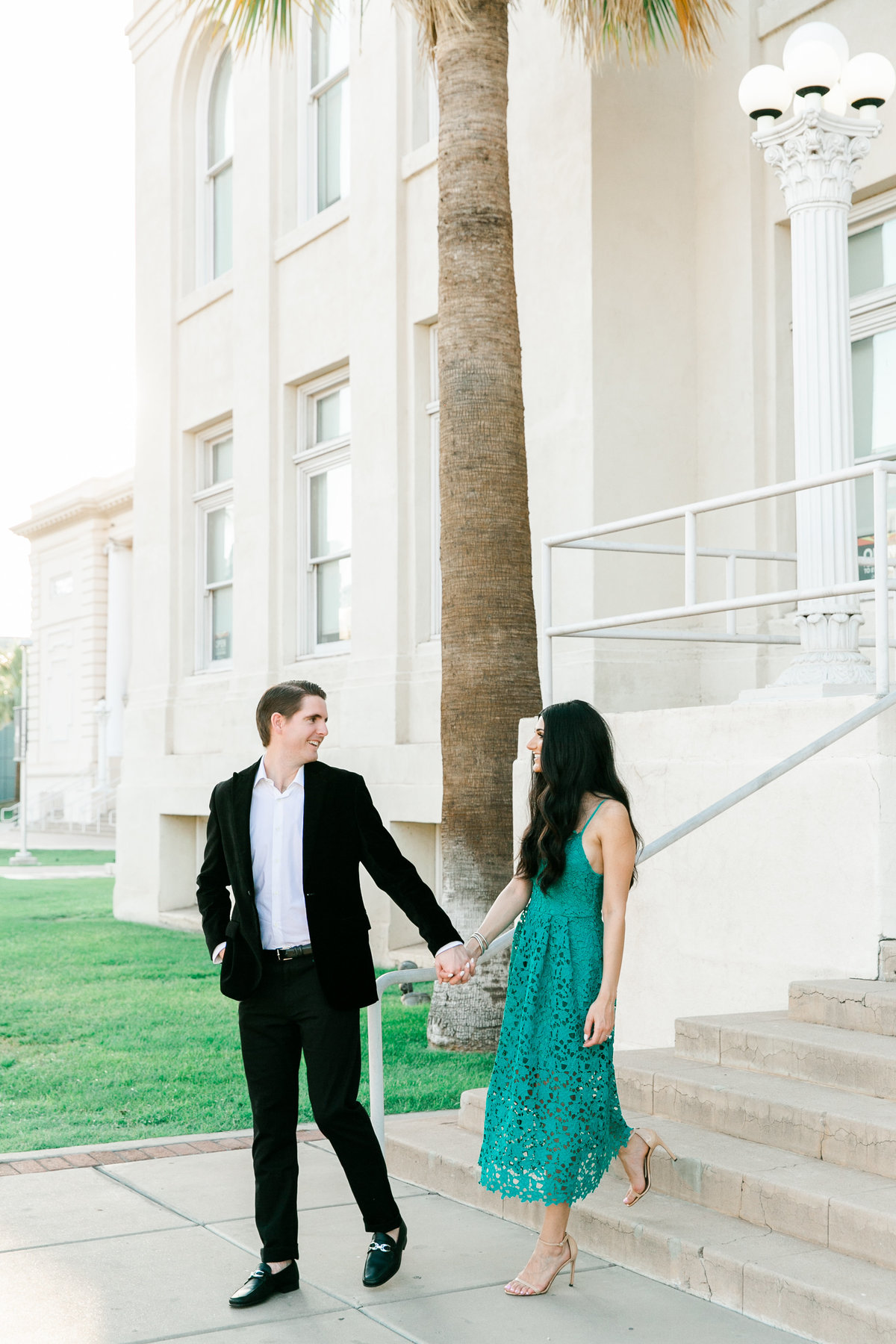 Karlie Colleen Photography - Arizona Engagement City Shoot - Kim & Tim-136