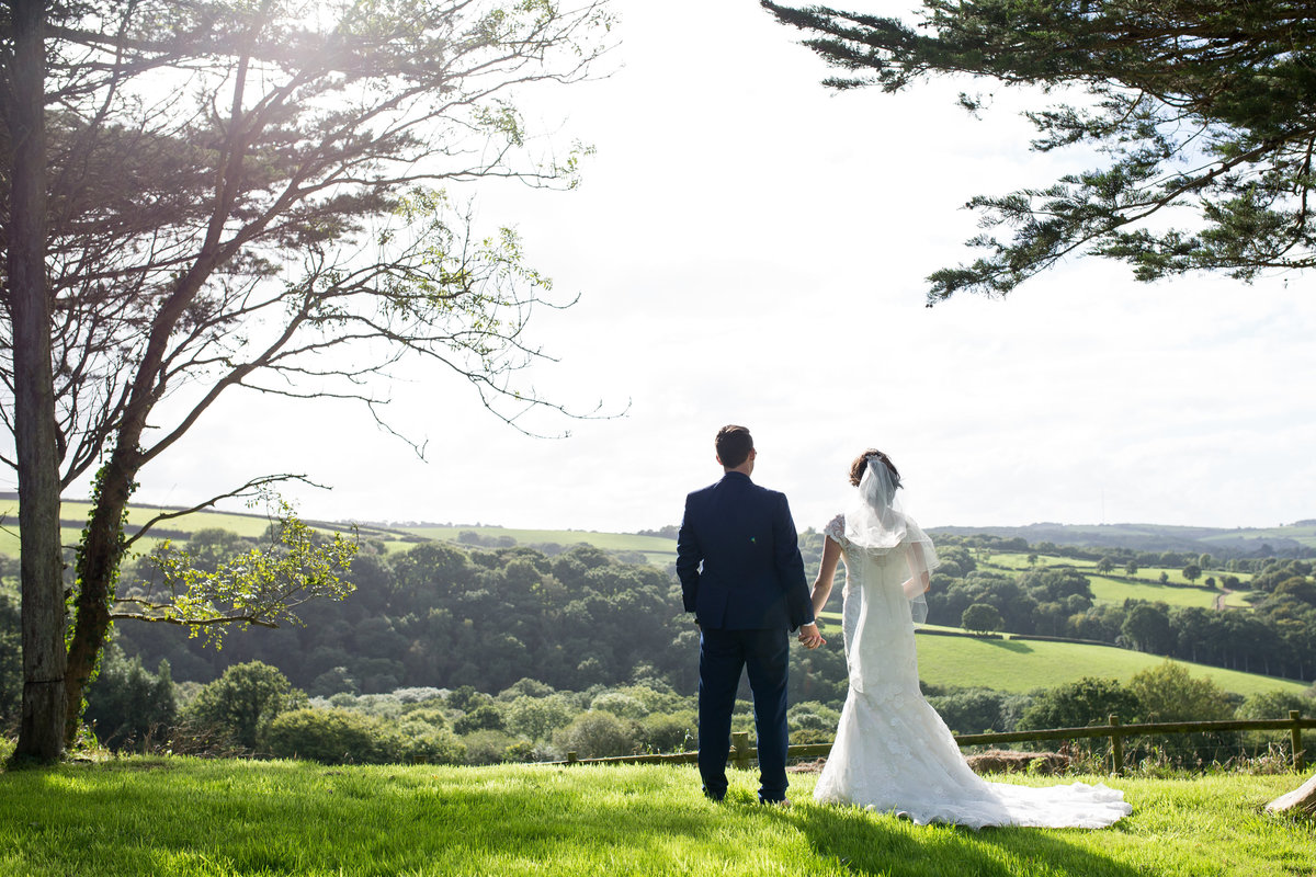 wedding photography at countryways in devon