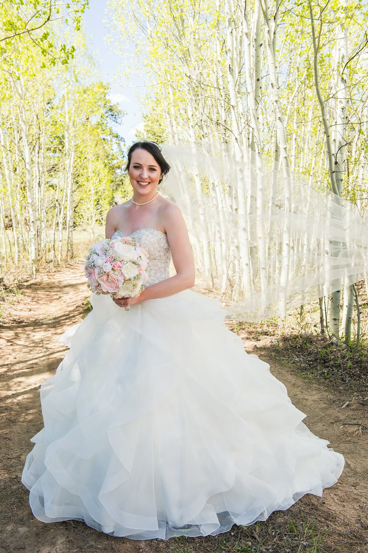 Spring Wedding Beaver Meadows, Red Feather CO-255