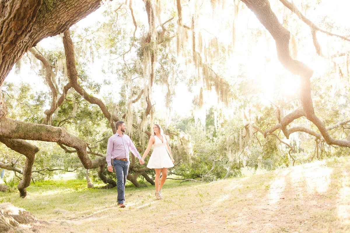 park engagement photos