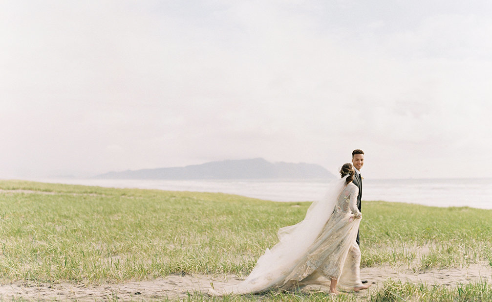 Cassie Xie Photography | Donny Zavala Workshop | Styled Sunset Beach Wedding Shoot 0003