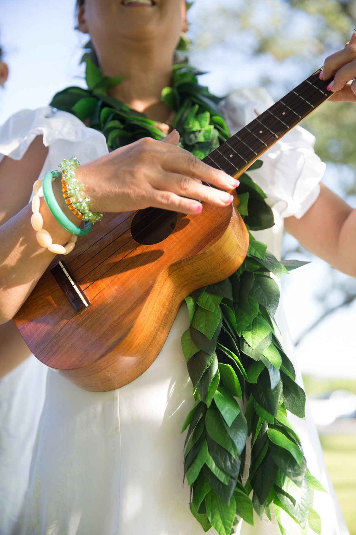 River Rock Event Center Texas  Ceremony Music Hawaiian Music Ukelele Maile Lei