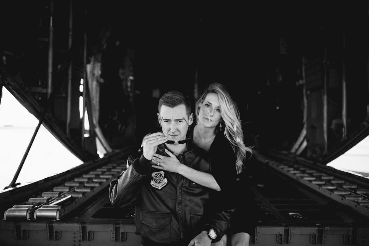 Charlotte Aviation Themed engagement Session 2
