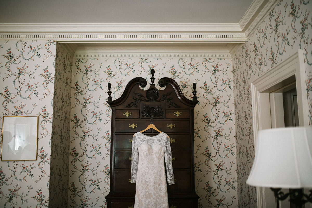 lyman estate classic dress wedding