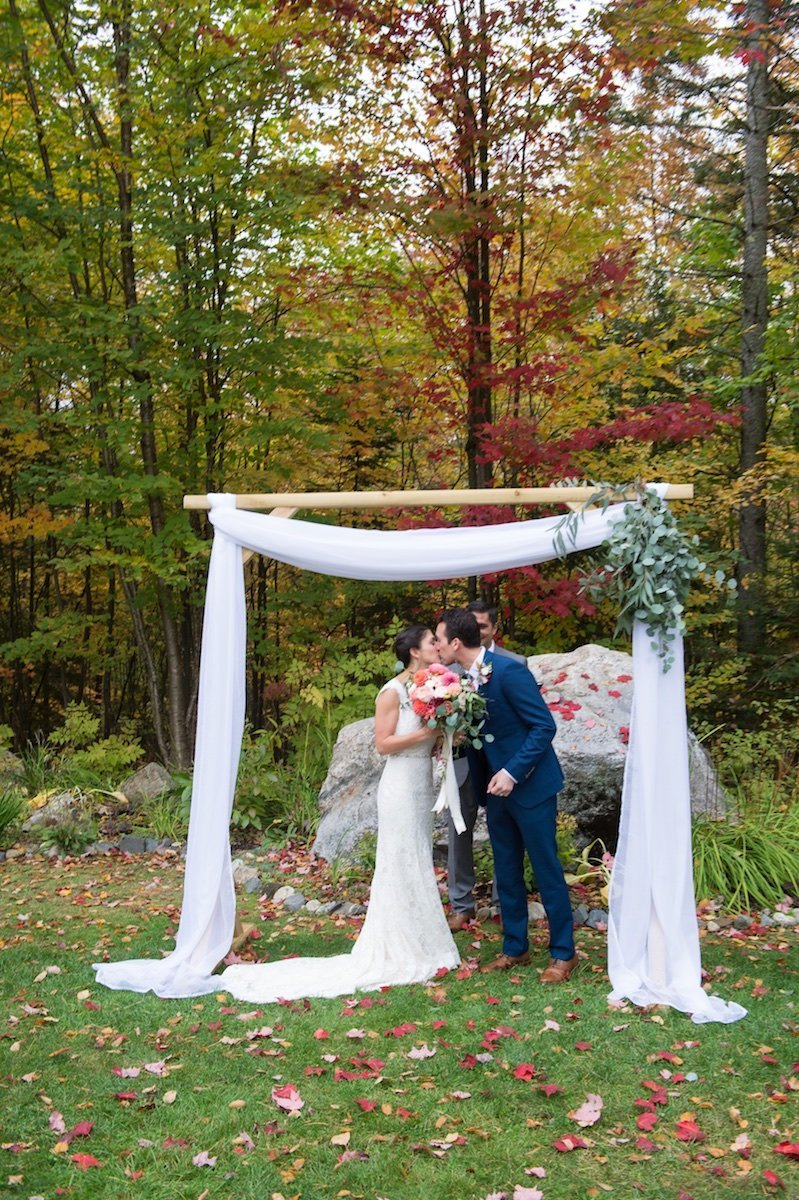 photographer for intimate small wedding at the Notch House at Lake Willoughby in Vermont 3
