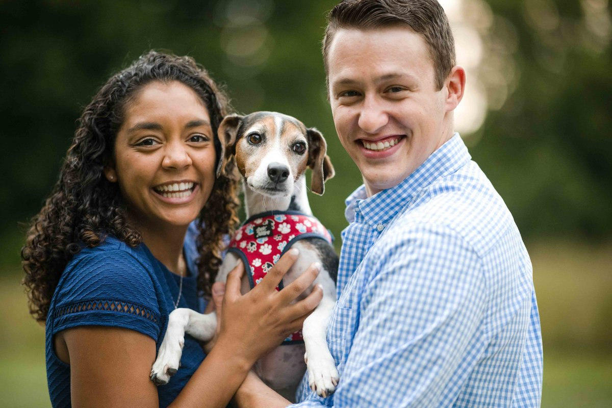 46 engagement photos with dogs for chippanee country club wedding ct