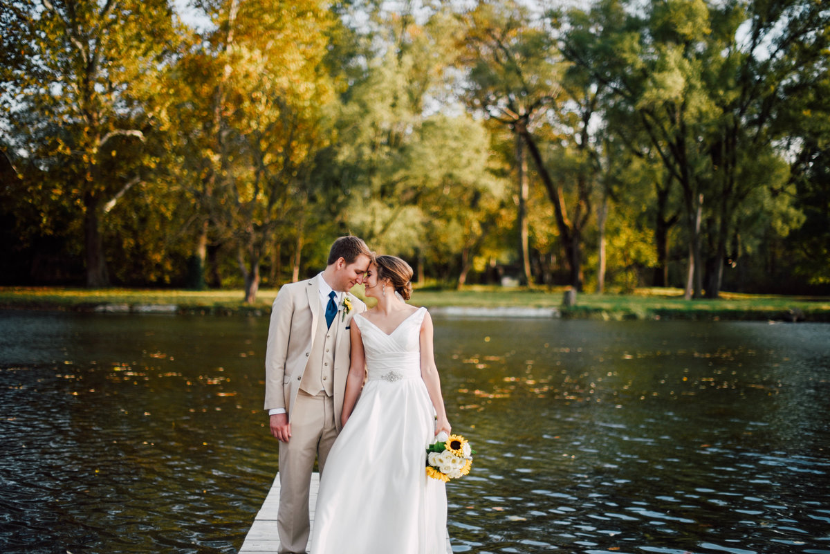 Dayton Ohio Fall Wedding Photographer