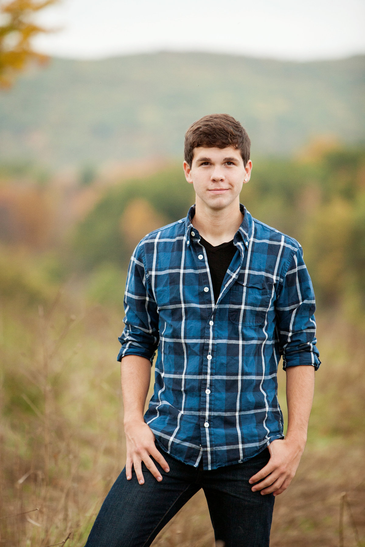 outdoor casual high school senior photographer in the Hudson Valley NY
