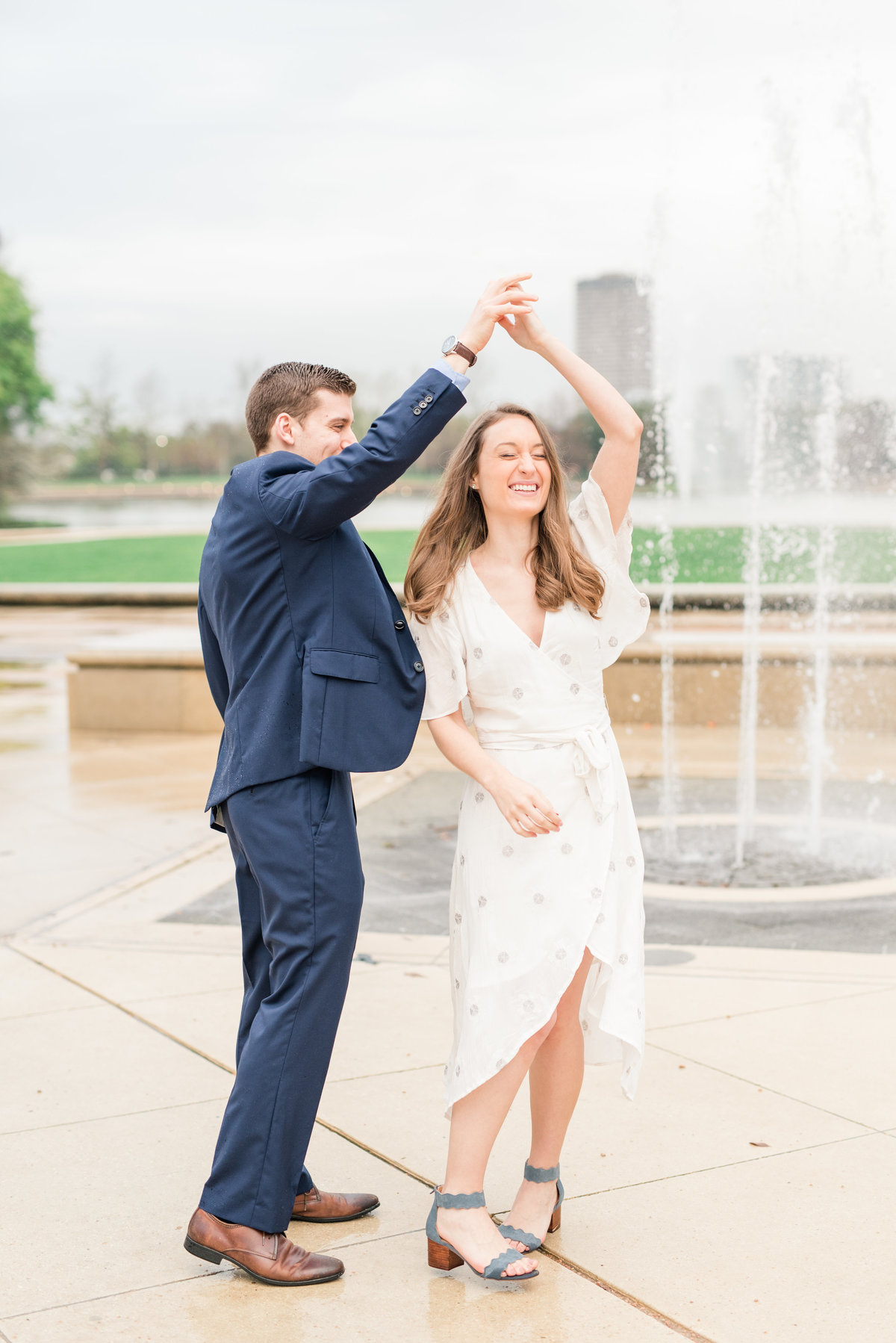 Austin Texas wedding photographer engagement pictures