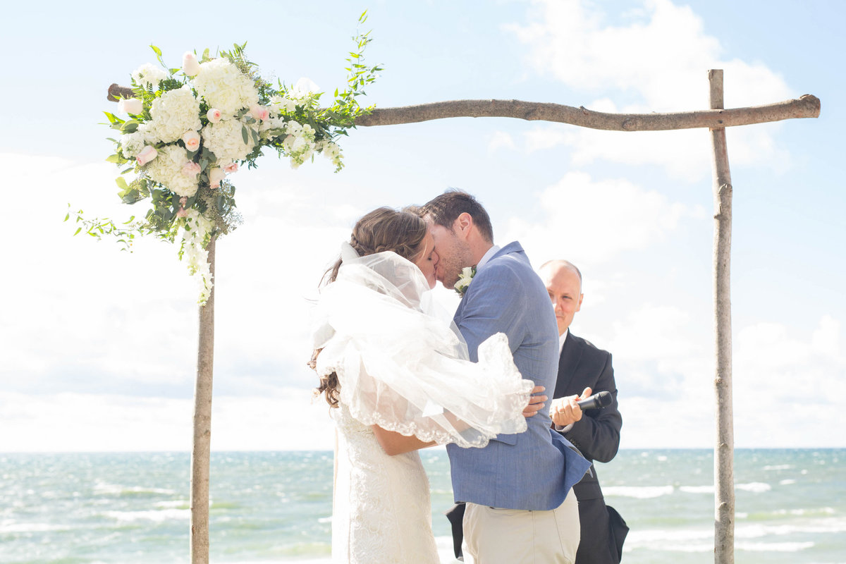 Lake Michigan Wedding Photographer