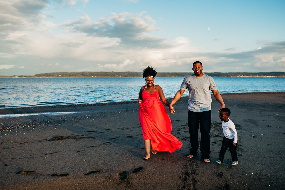 Camano Island Washington Maternity Photography-17