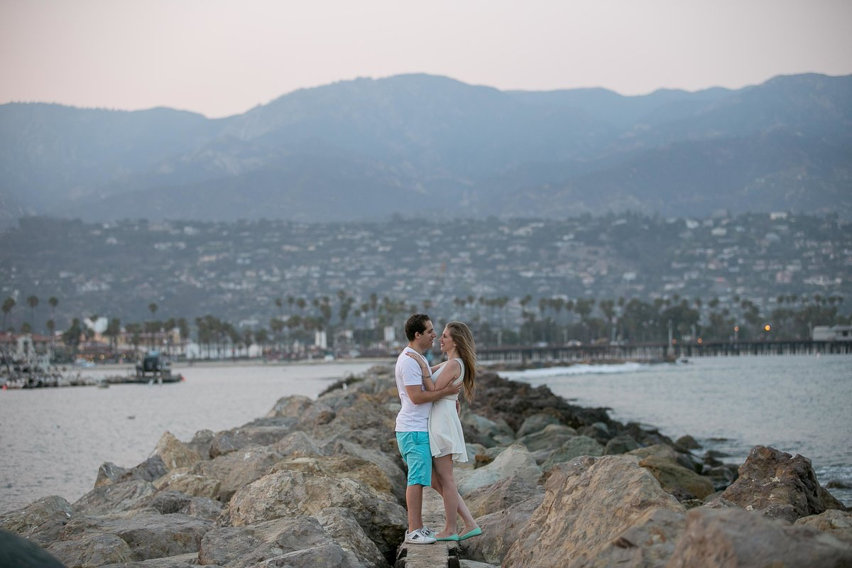 Santa Barbara Pier Engagment Session