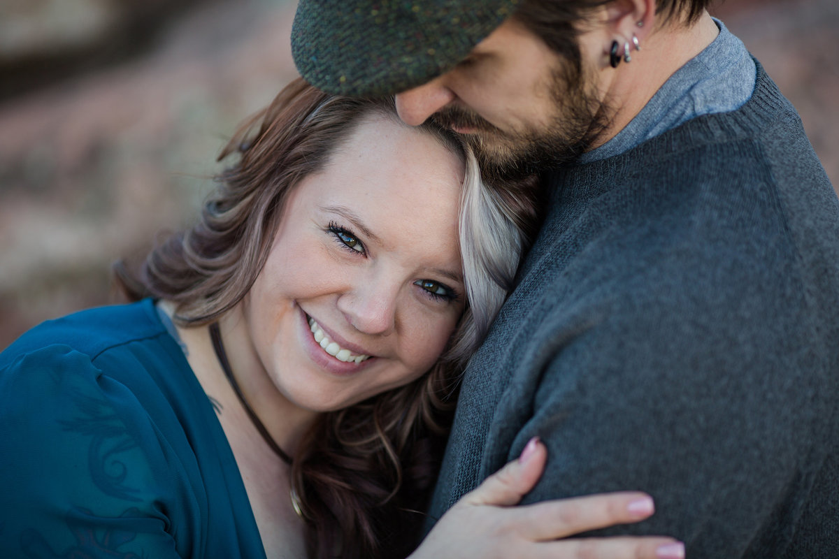 Rock Ledge Ranch Engagement photos
