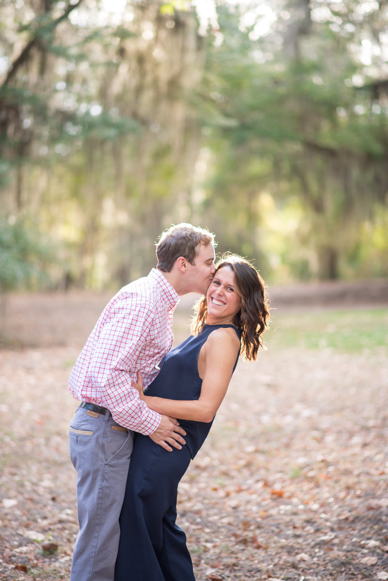 Sunset Engagement Session by Georgia Wedding Photographer Eliza Morrill-4