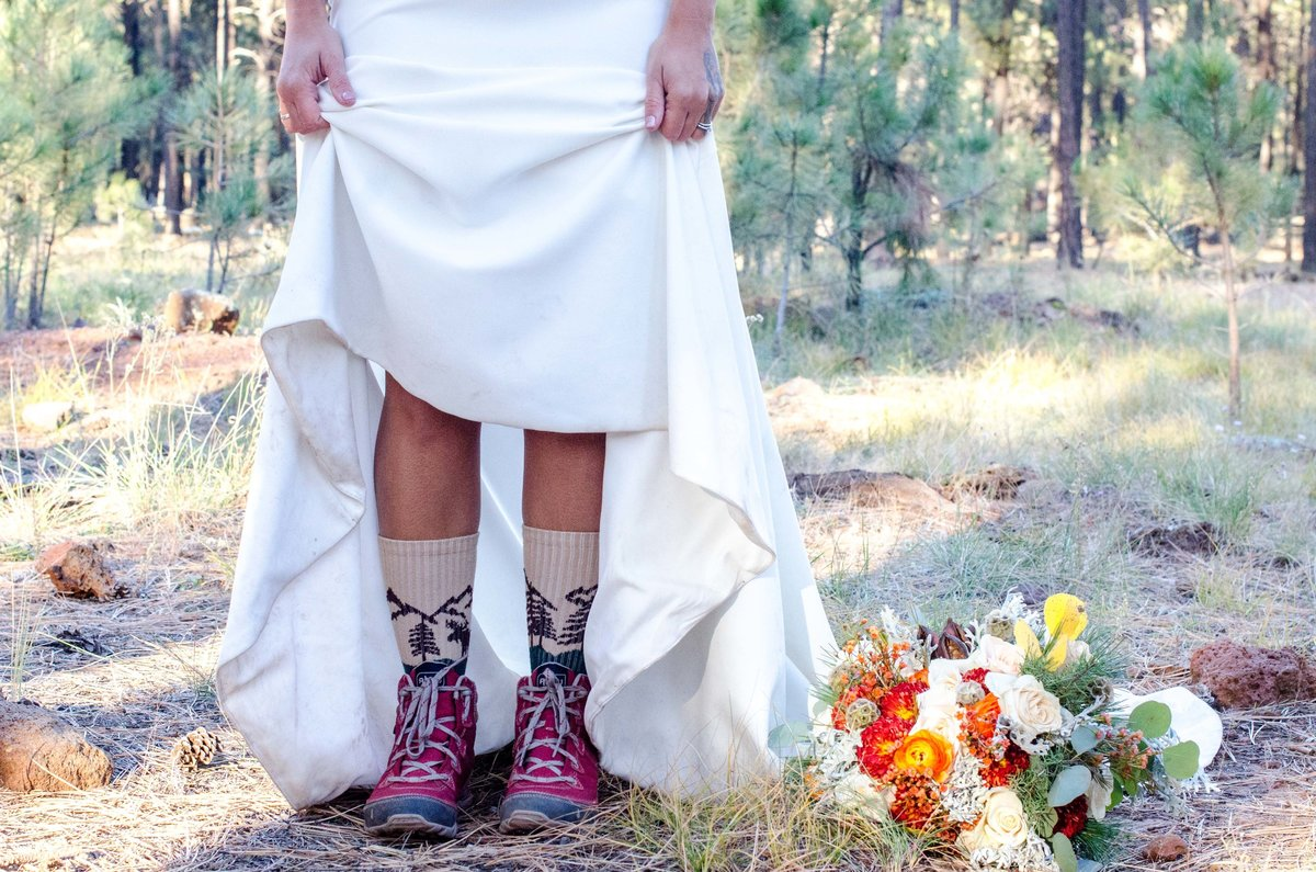 Lindsi Rian Photography Flagstaff Arizona Lava Tube Elopement Wedding Styled Shoot-35