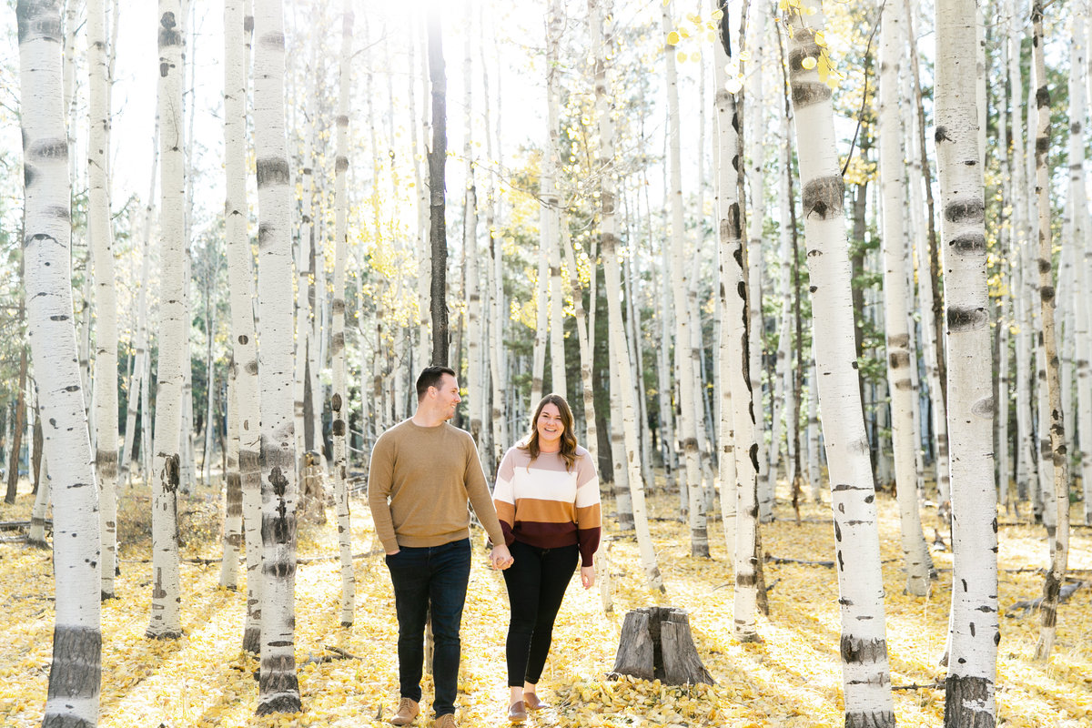 Karlie Colleen Photography - Flagstaff Arizona Engagement Photographer - Britt & Josh -7