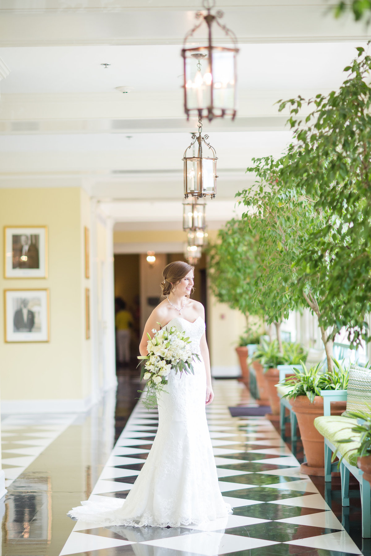 Carolina Inn Bridal Portraits