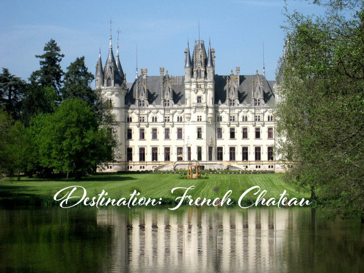 Chatteau de Challain France Destination Wedding