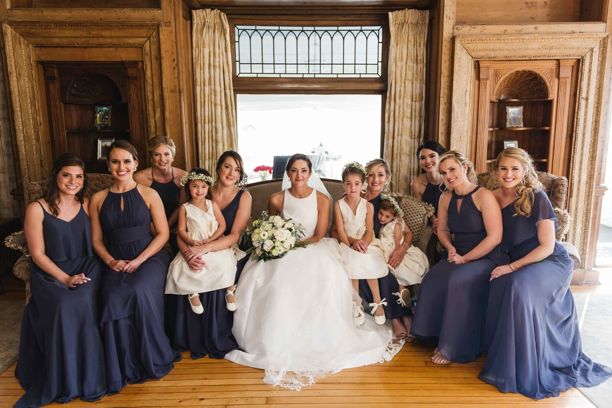 15- Inn at Mystic Haley Mansion Wedding