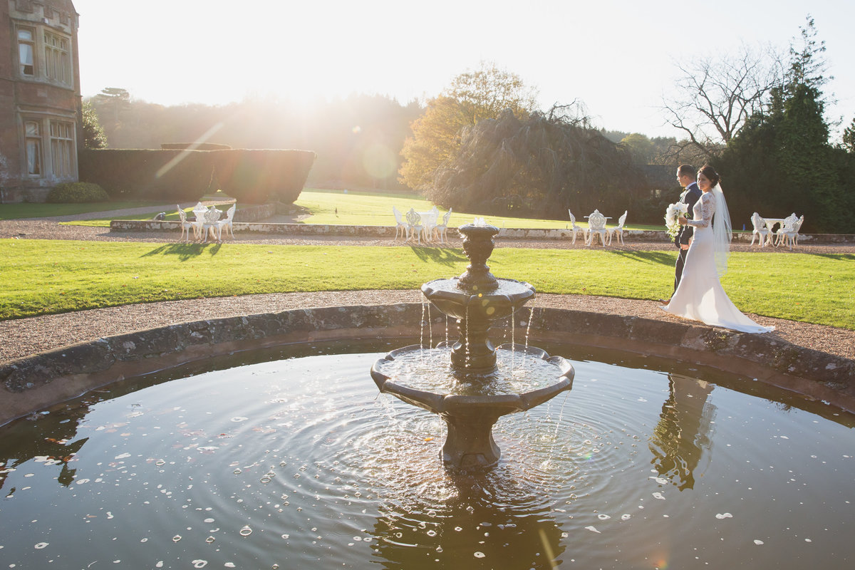 somerset wedding photographer at st audries park wed magazine